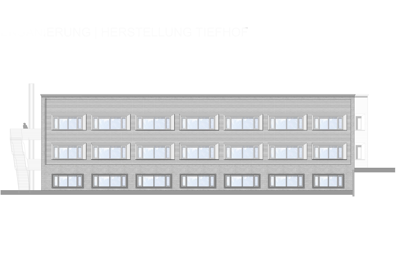 Kernsanierung Büro – und Verwaltungsgebäude  (1)