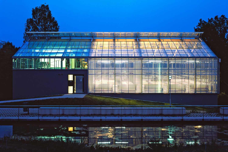 Gewächshaus zur Pflanzenforschung