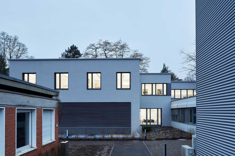 Laborgebäude für präklinische Bildgebung der Werner Siemens-Stiftung