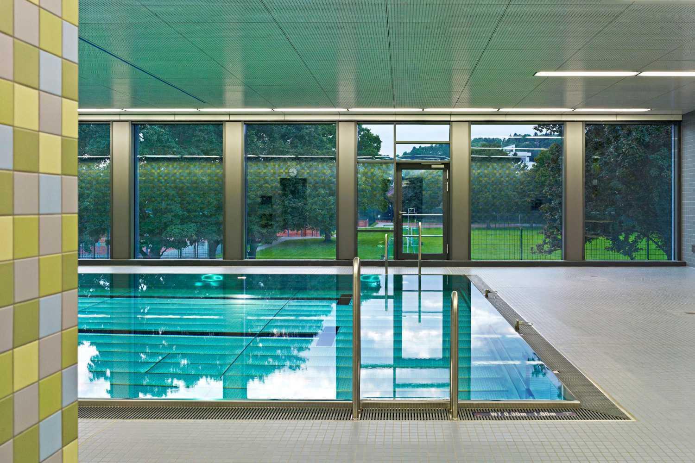 Sanierung Schwimmhalle Sportinstitut