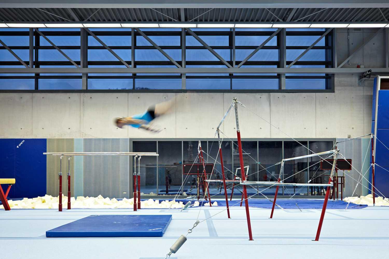 Universitätsturnhalle für Kunstturnen