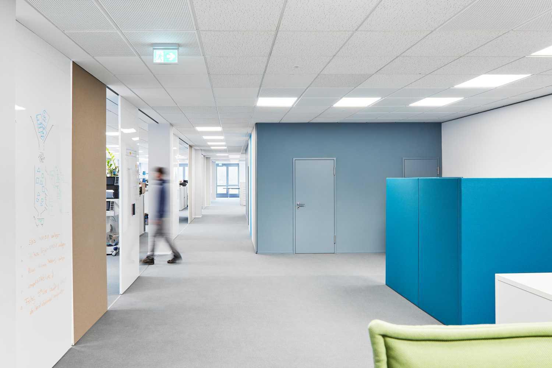 Büro- und Laborräume für Produktentwicklungsprozesse
