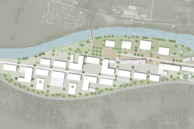 Städtebauliche Entwicklung Campus Reinhold-Würth-Hochschule