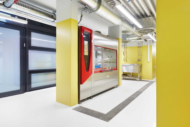 Forschungsflächen im Friedrich-Miescher-Laboratorium