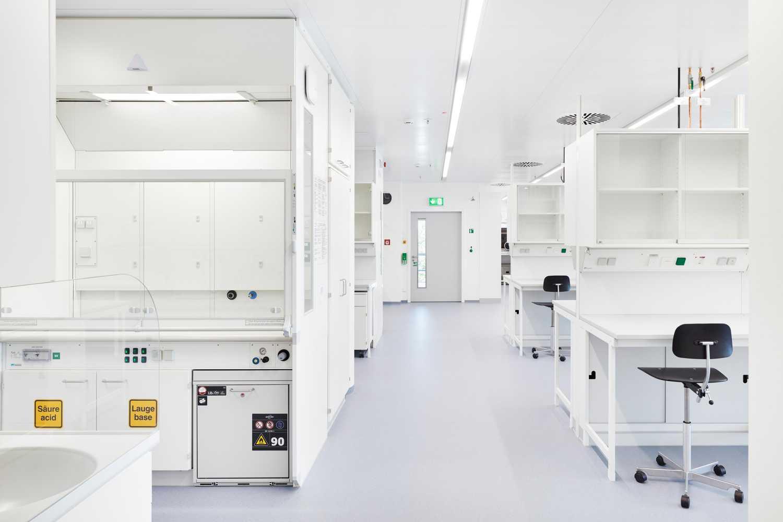 Laborflächen für die Mikrobiomforschung