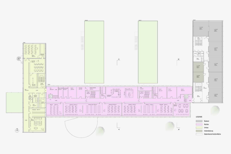 Erweiterung und Umbau Burghardt-Gymnasium Buchen