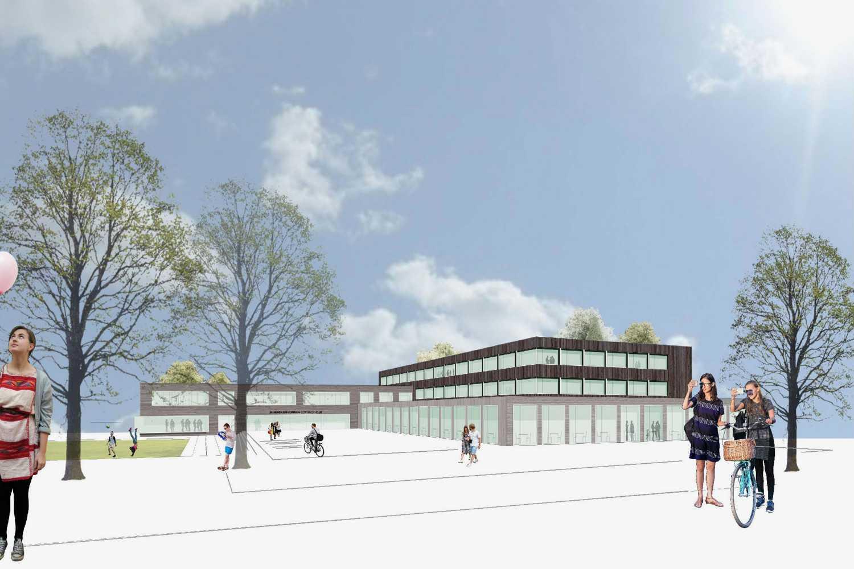 Sanierung und Erweiterung Eichendorff Schulverbund