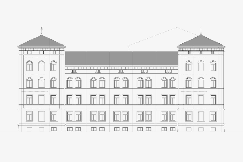 Brandschutz und denkmalpflegerische Sanierung Polizeistation Konstanz