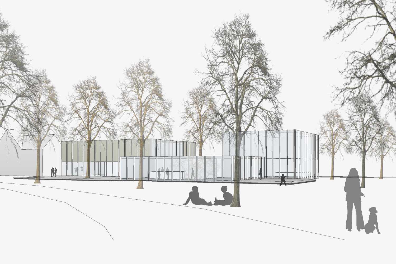 Neubau Jugendhaus, Projektskizze