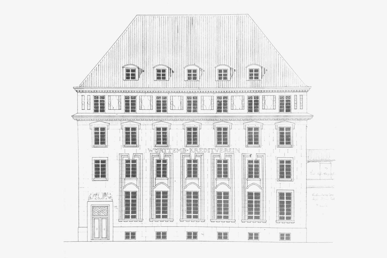 Umbau und denkmalpflegerische Sanierung Württembergischer Kreditverein