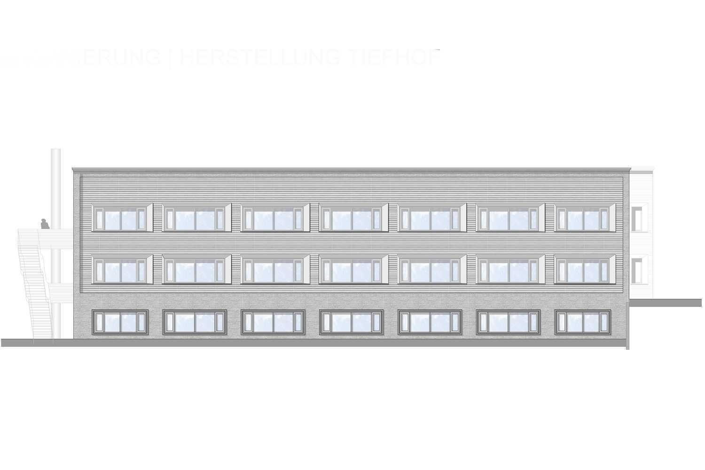 Kernsanierung Büro – und Verwaltungsgebäude