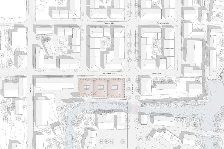 Wohn- und Geschäftshaus Schwanenstrasse